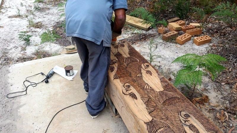 Noel carving
